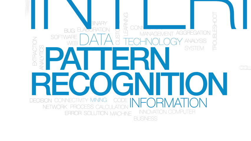 Facial Recognition Animated Word Cloud Text Design