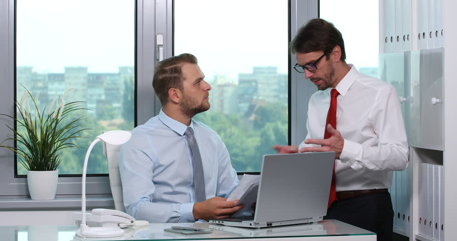 Chief Executive Officer Receive Pie Chart Data Partner Negative Feedback Office
