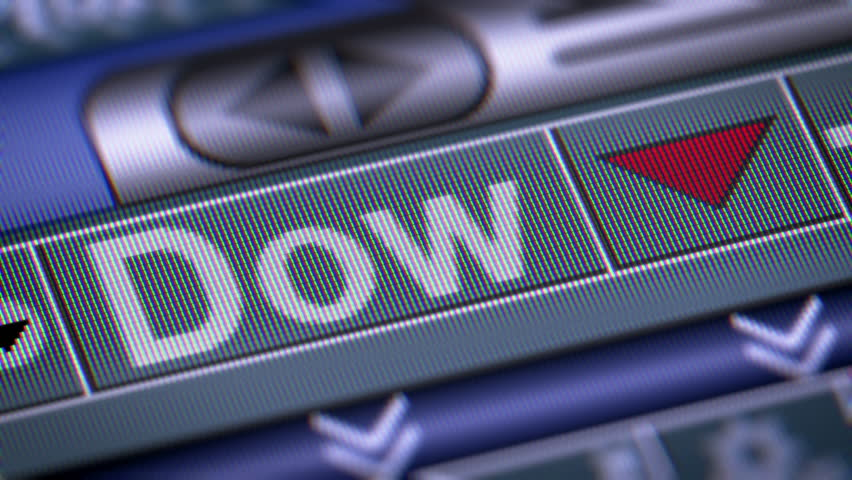 Dow Jones Industrial Average Footage Stock Clips