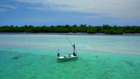 Fishing Off Small Fishing Boat