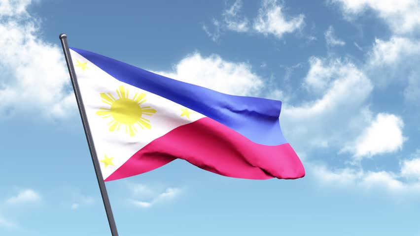 3D Animated Flag of the Philippines