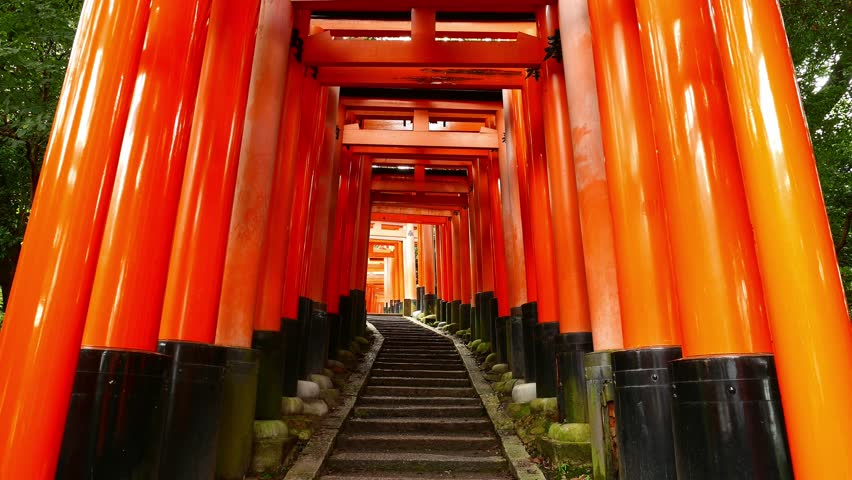 Fushimi Inari Shrine fame torii gates
