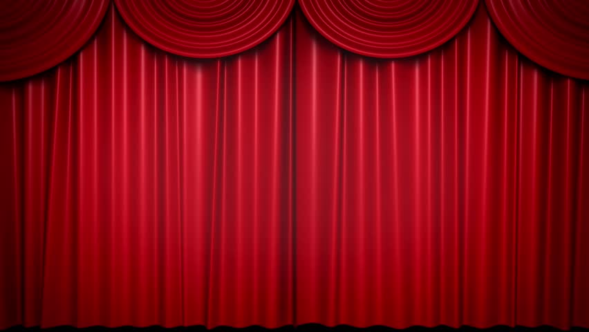 High Quality Curtain Opening   HD Stock Video Clip