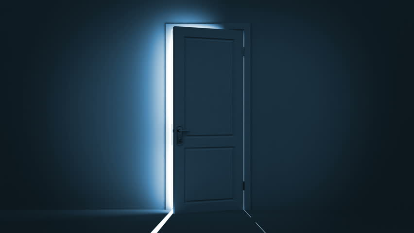 Door opening to a bright light. Alpha Channel is included. HD 1080. - & Blue Storage Door Opens. Animation With Mask Included. Stock ... pezcame.com