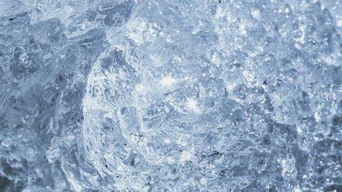 Melting Ice In Macro