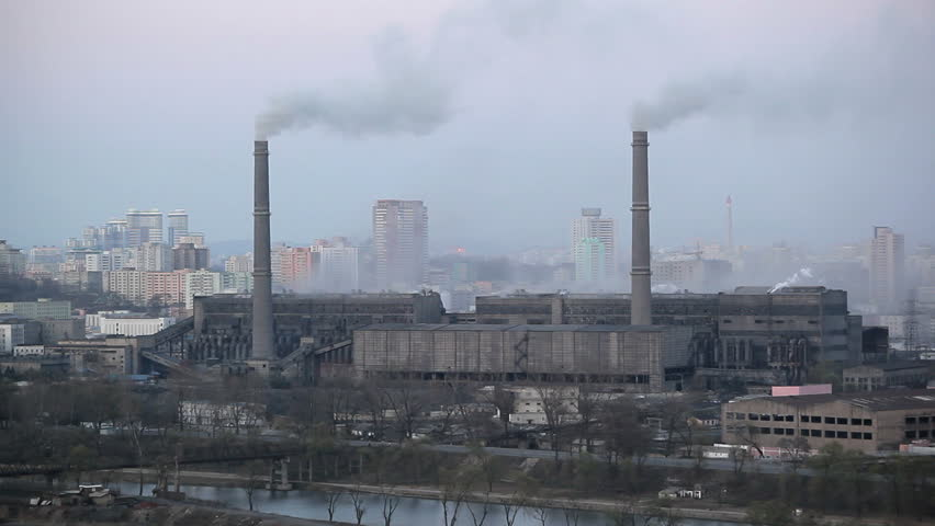 Image result for north korea, industry, photos, air pollution