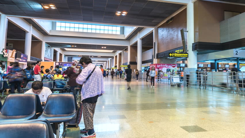 Don Muang International Airport - Stock Footage Video (100% Royalty-free)  26121179 | Shutterstock