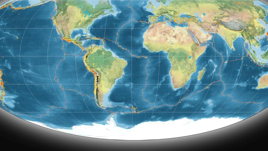 South America Tectonic Plate Featured Stock Footage Video 100