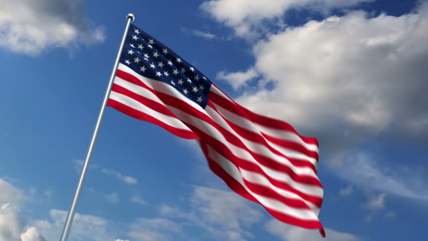 american flag background stock footage video shutterstock