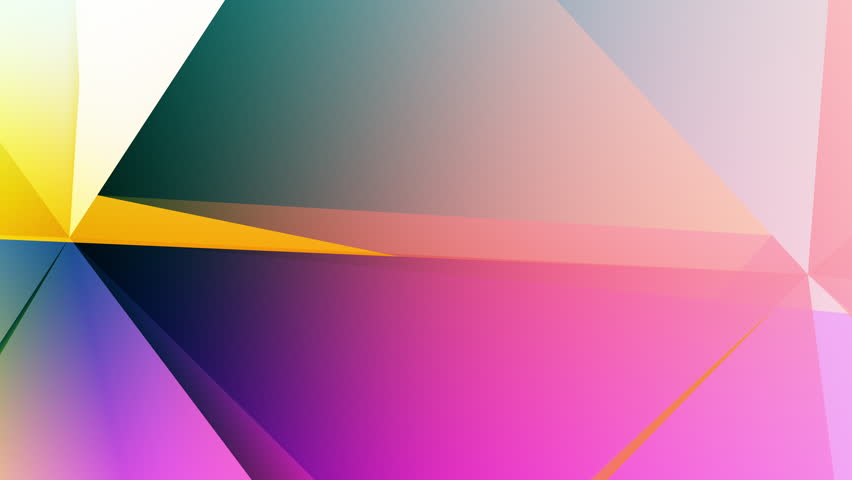 Geometrical abstraction, colorful abstract geometric background | Shutterstock HD Video #26142899