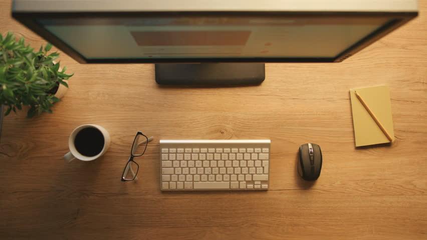 Wooden Desk Top