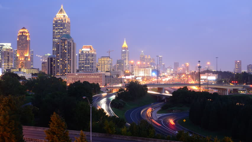 Atlanta, Georgia, USA skyline