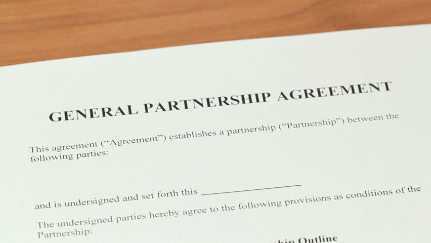 Partnership Agreement  Over The Shoulder Shot Of A General