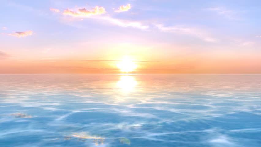 3D CG rendering of the horizon | Shutterstock HD Video #26256059