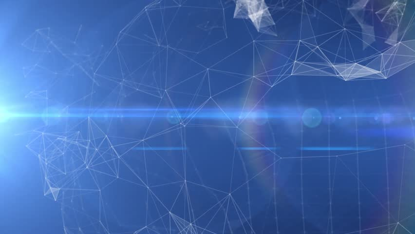 Plexus abstract technology and engineering background with original organic motion | Shutterstock HD Video #26261219