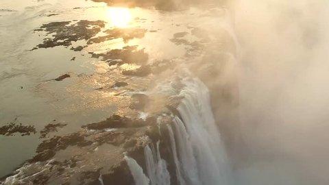 Victoria fall in Zambia