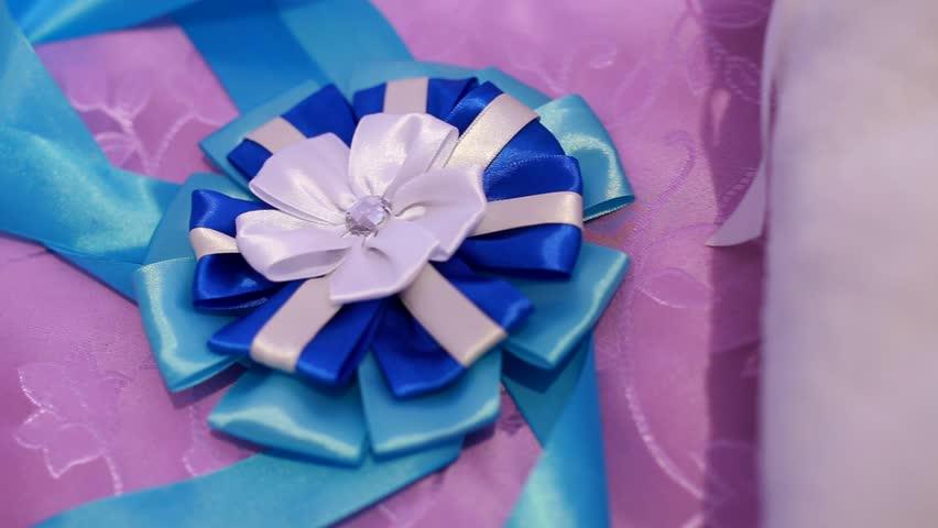 Beautiful decorative bow | Shutterstock HD Video #26522858