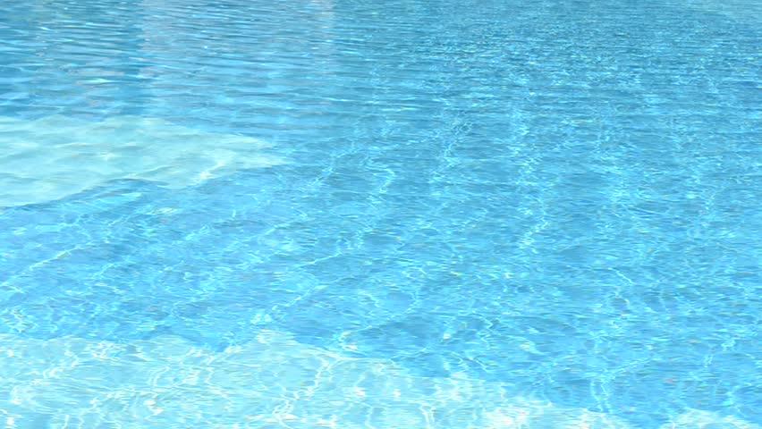 Pool Water Hd closeup water swimming pool stock footage video 22152439