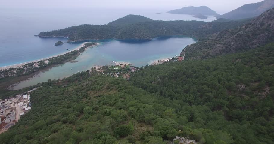 aerial fethiye oludeniz turkiye #26620939