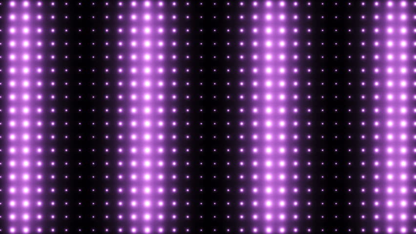 Animated Light Screen Dots Freestyle Patterns On A Dot