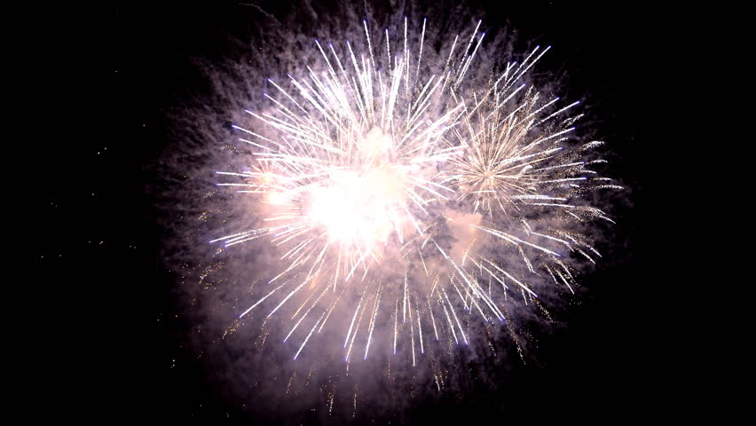 The fireworks in the night sky | Shutterstock HD Video #26898919