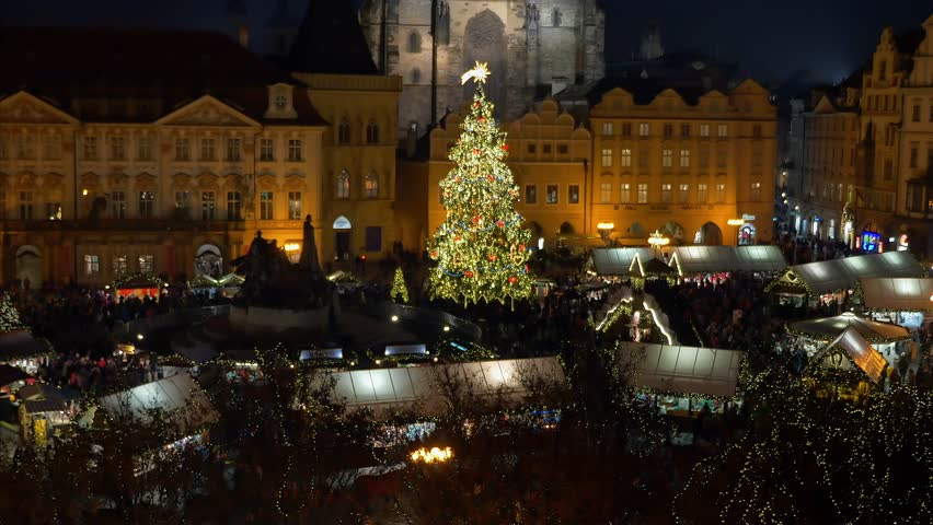 christmas market at the old town square in prague czech republic europe 13 - Christmas Tree Market