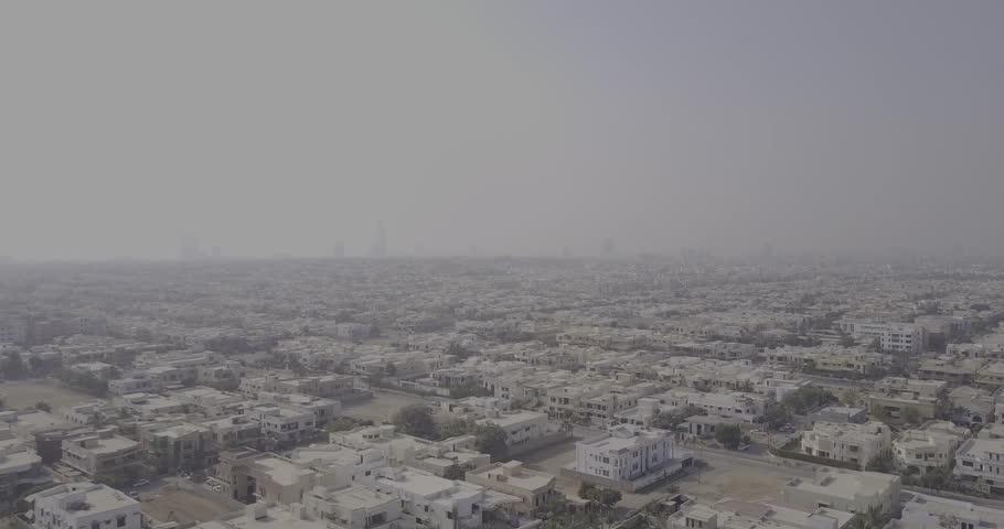 Aerial Shot of City, Karachi