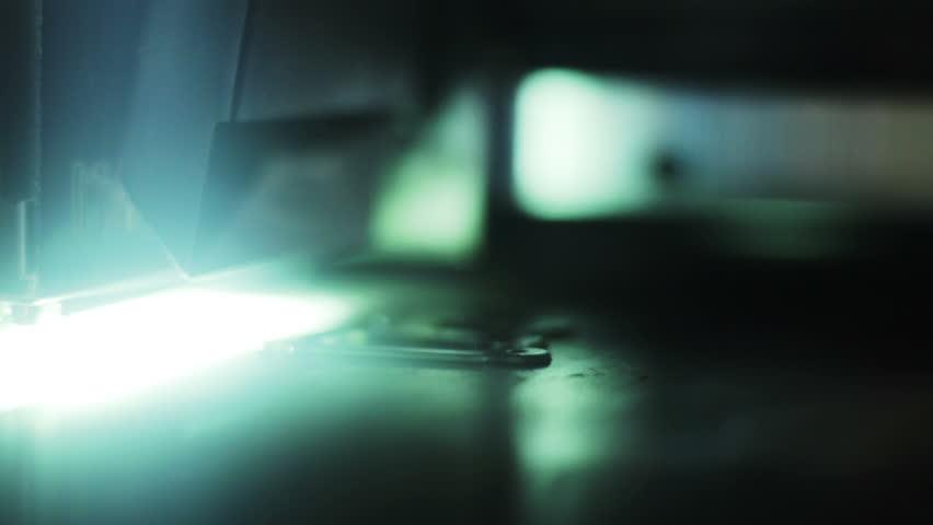 3d printer at work   Shutterstock HD Video #2713952