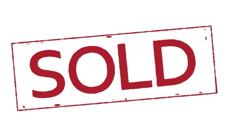 sold out stamp red animation keyable