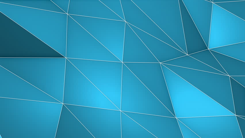 Elegant Polygonal Surface Triangular Polygons with Outlines Mesh of Triangles Low Poly Waves on a Plane Seamless Looping Motion Background Pleasant Blue   Shutterstock HD Video #27203560