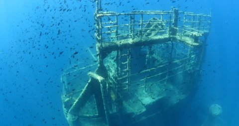 wreck with fish ship wreck underwater shipwreck