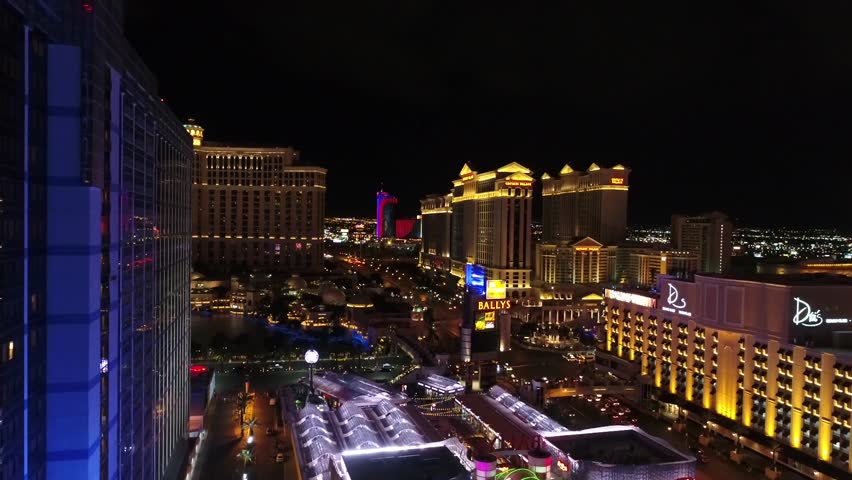 Aerial view of vegas 05,03,2017 | Shutterstock HD Video #27429676