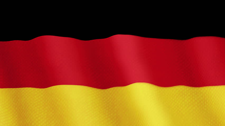 Free Germany flag Stock Video Footage Download 4K HD Clips
