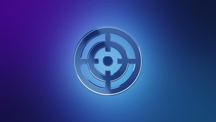 Animation rotation symbol of social network or technologic of global communication. Animation of seamless loop.   Shutterstock HD Video #27605209