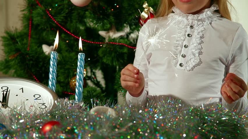 Christmas Sparklers | Shutterstock HD Video #2765696