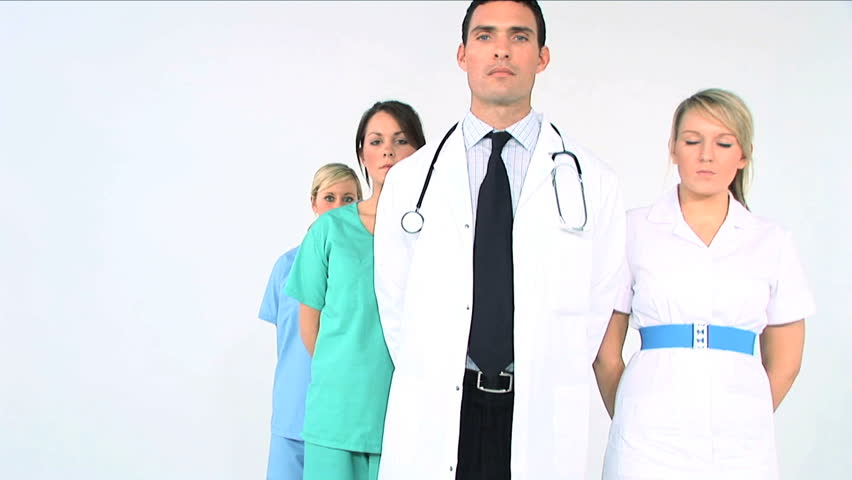 Medical & healthcare staff ready to treat patients | Shutterstock HD Video #277129