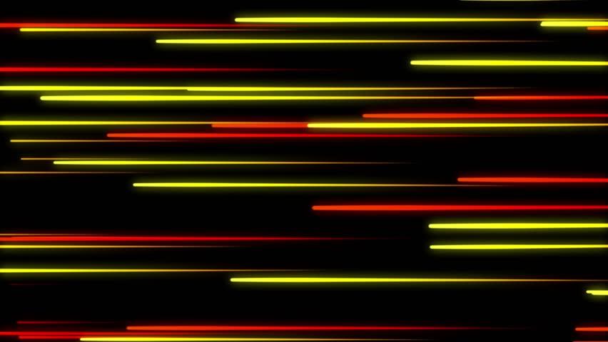 Metro Light Streaks Seamless Looping Motion Background Video Background Loop 4K Horizontal 2 Yellow Orange Gold Golden | Shutterstock HD Video #27906679