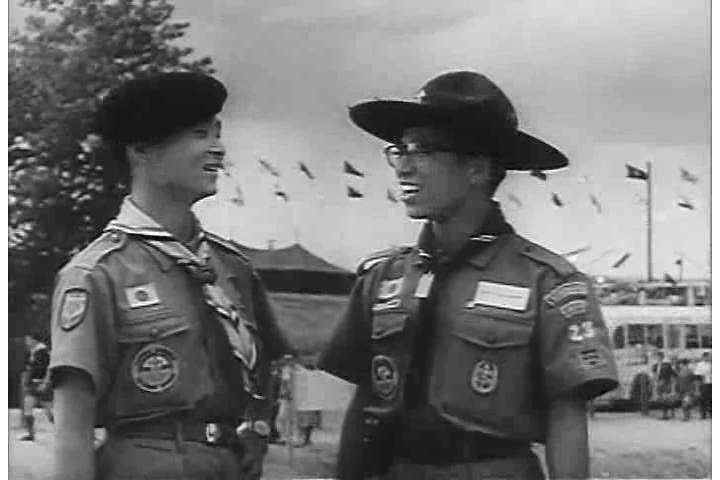 1960s: The National Boy Scout Jamboree in the summer of 1960s is featured in a film about the relationship between the US boy Scouts and the Army.