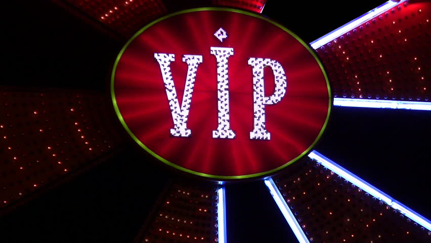 vip neon light casino