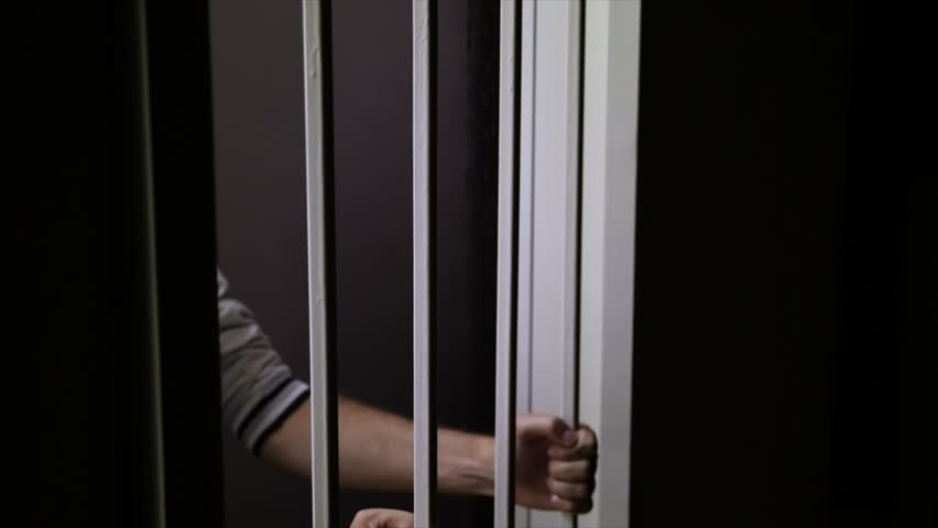 Black babe in prison uniform enticed for rough anal sex behind the bars № 469343 бесплатно