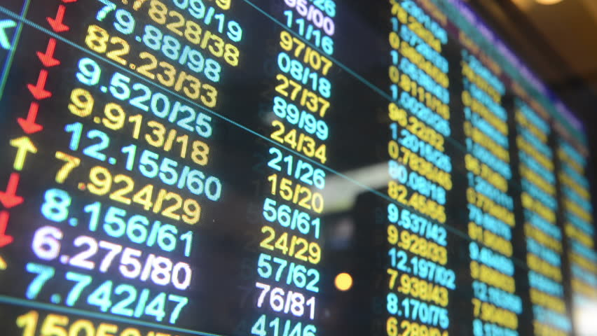 Stock Market board ,time lapse | Shutterstock HD Video #2828341