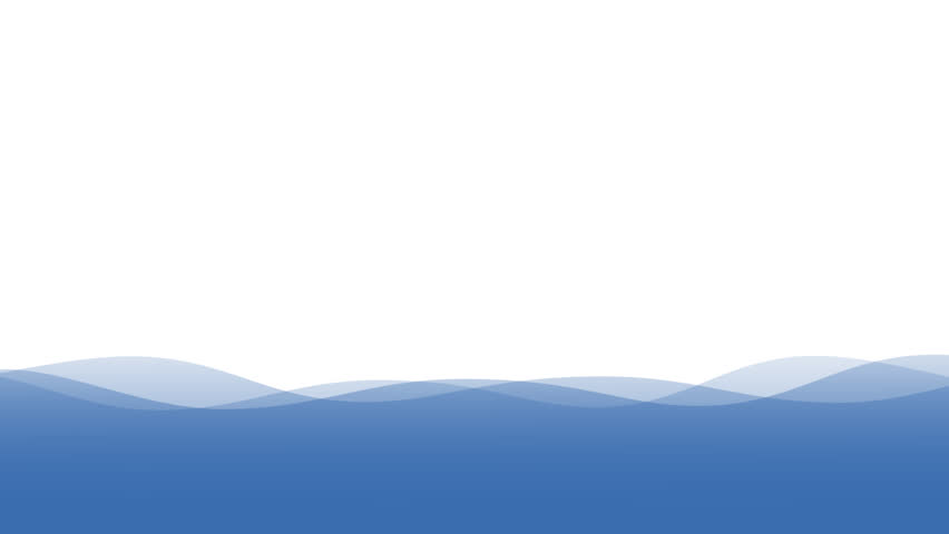 Animation Of Clear Blue Water Surface Background With