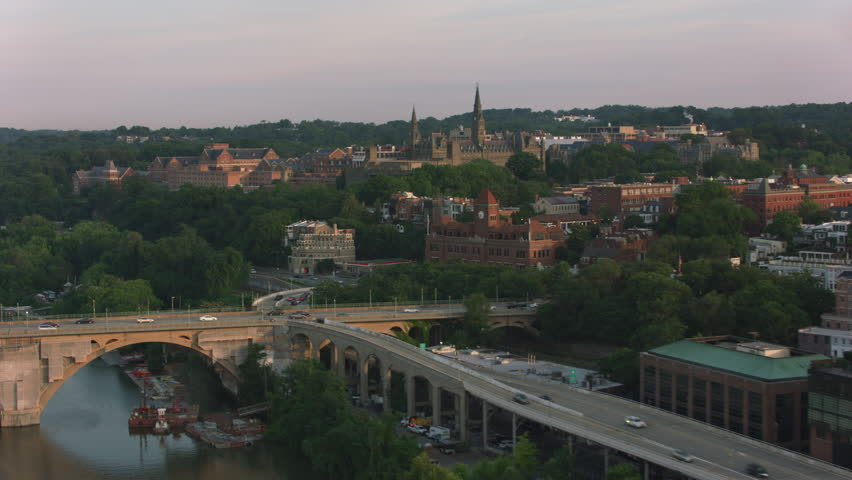 Washington, D.C. circa-2017, Georgetown University. Shot with Cineflex and RED Epic-W Helium.