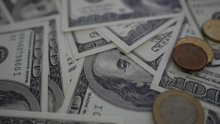Close up money dollars. | Shutterstock HD Video #28557169