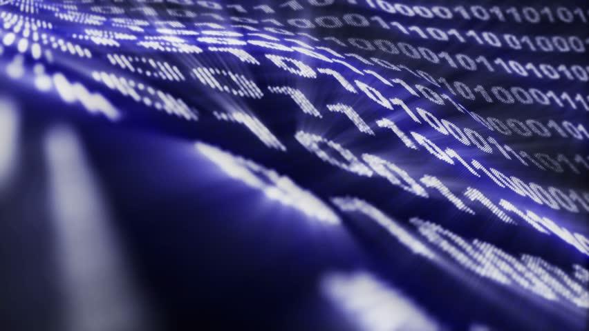 Binary Code Numbers Animation, Rendering, Background, Loop, 4k  | Shutterstock HD Video #28629919