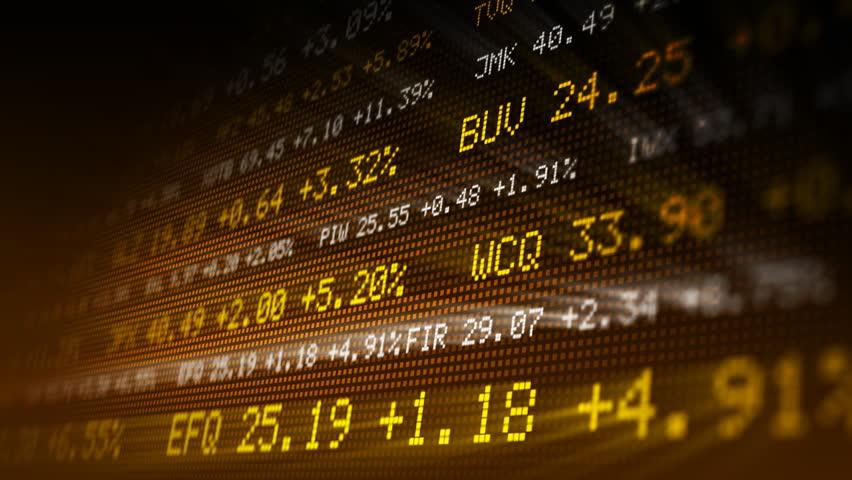 Looping stock exchange data | Shutterstock HD Video #287110