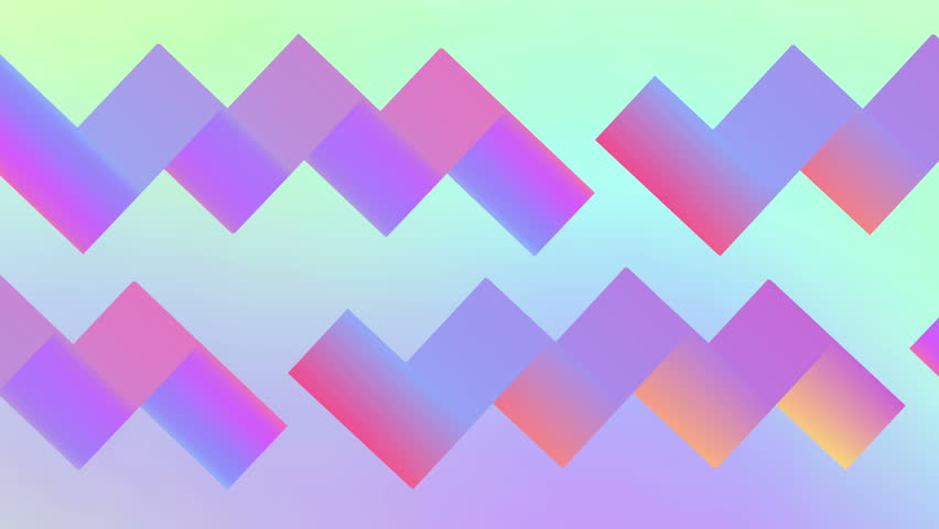 Retro geometric abstract background 80s and 90s. Seamless loop.