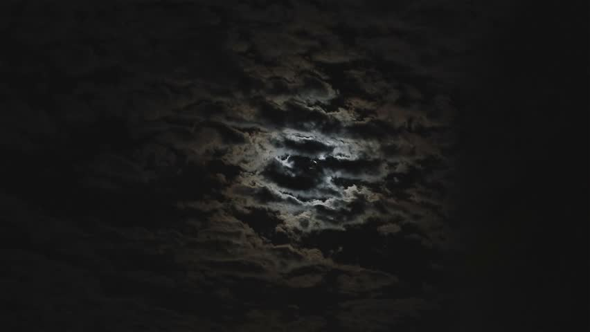The motion of clouds in the night sky against the background of a bright moon, Clouds in the night sky against a bright moon, Full moon in the night sky, bright moon, timelapse | Shutterstock HD Video #28921573
