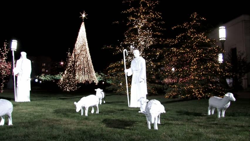 Christmas Shepherds.Christmas Shepherd Nativity Scene On Stock Footage Video 100 Royalty Free 289669 Shutterstock