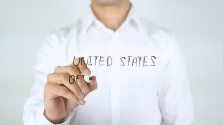 United States of America, Man Writing on Glass | Shutterstock HD Video #29036809
